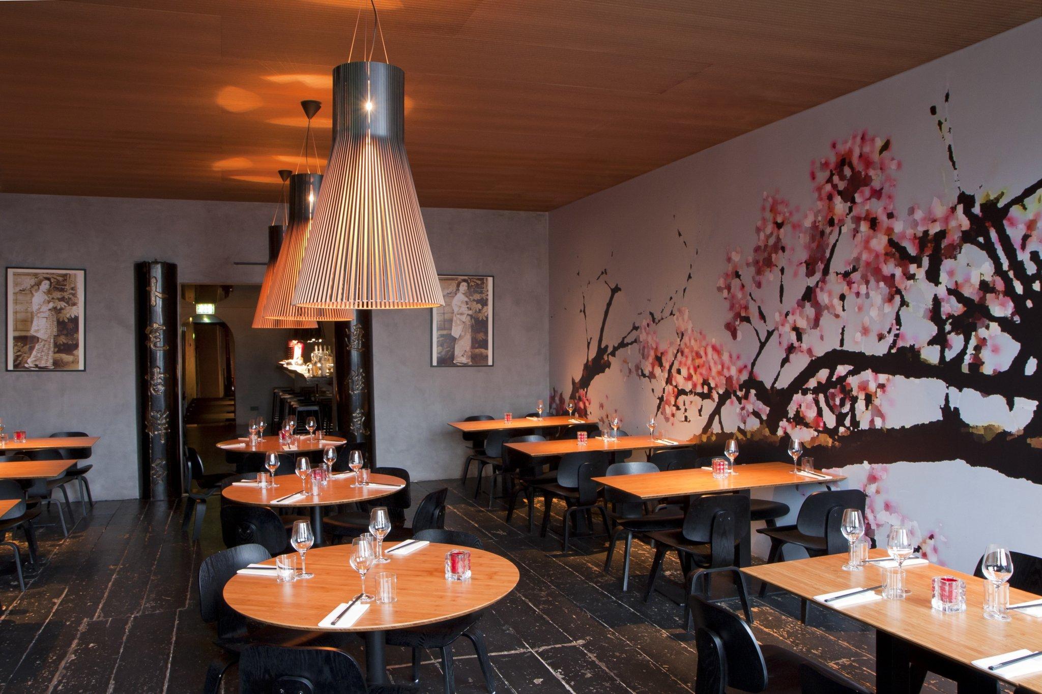 Geisha restaurant en lounge tunnelmadesign - Sfeer zen lounge ...